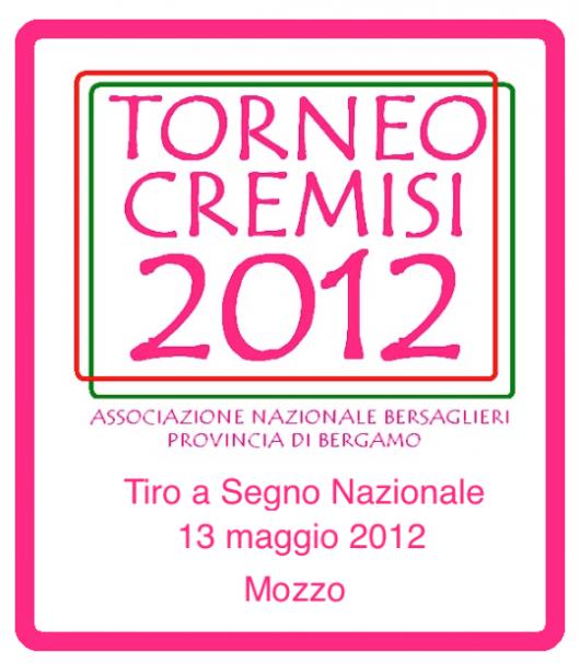 Mozzo, Torneo Cremisi, provinciale, di tiro carabina al poligono di Mozzo il 13 maggio dalle ore 8,00. « blog del Bersagliere