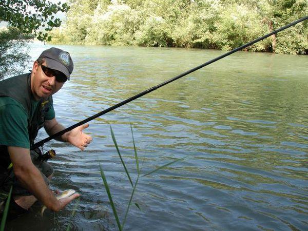 «La mia vita in mezzo al fiume» Colombo iridato di pesca alla trota - Sport - L'Eco di Bergamo - Notizie di Bergamo e provincia
