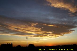 tramonto colombera mozzo