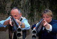 Europei di tiro a volo, Franca e Patrizio Battaglia fanno centro - Corriere Bergamo