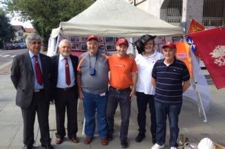 Il Presidente Tenente Rocchi in visita alla Mostra dei Bersaglieri e la Guerra di Liberazione | blog del Bersagliere