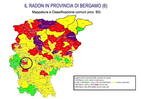Radon, l'allarme ignorato per il gas killer silenzioso - Corriere Bergamo